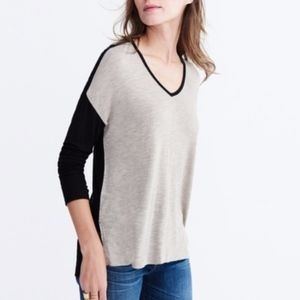 Madewell Anthem Colorblock High Low Top